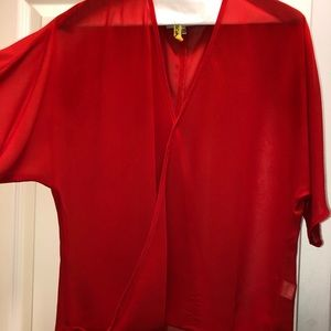 Drapey blouse from Nordstrom, size XS.